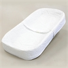 L.A. Baby 4 Sided Changing Pad, White