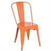 Fine Mod Imports Talix Chair, Orange