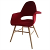 Fine Mod Imports Eero Dining Chair, Red