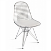 Fine Mod Imports Eiffel Dining Chair, White