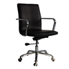 Confreto Conference Office Chair Mid Back, Dark Brown