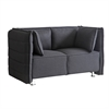 Sofata Loveseat, Black