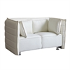 Sofata Loveseat, White
