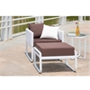 Ultra Outdoor Lounge, White