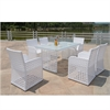 Bold Outdoor Dining Set, White