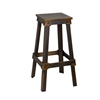 Fine Mod Imports Porch Bar Stool, Copper