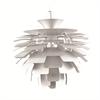 Artichoke Leaf Lamp, Silver