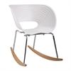 Vac Arm Rocker Chair, White