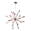 "Spark Hanging Chandelier 23"", Copper"