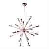 """Fine Mod Imports Spark Hanging Chandelier 23"""", Copper"""