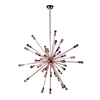 "Spark Hanging Chandelier 39"", Copper"