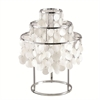 Fine Mod Imports Pearl Table Lamp, Mother of Pearl