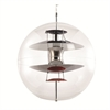 Fine Mod Imports World Hanging Lamp, Clear