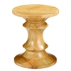 Walnut Stool Style A, Natural