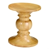 Walnut Stool Style B, Natural
