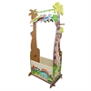 Fantasy Fields - Dinosaur Kingdom  Dress Up Valet Rack w/ 4 Hangers