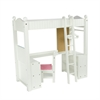 "Olivia's Little World - Little Princess 18"" Doll Furniture - College Dorm Double Bunk Desk"