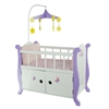 "Olivia's Little World - Little Princess 18"" Doll Furniture - Baby Nursery Bed with Cabinet"