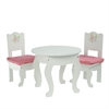"Olivia's Little World - Little Princess 18"" Doll Furniture - Table & 2 Chairs Set"