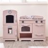 Teamson Kids-Pink Play Kitchen (2 Pieces)
