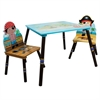 Fantasy Fields - Pirates Island Table & Set of 2 Chairs -A