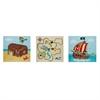 Fantasy Fields - Pirates Island Wooden Wall Art Set