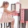 Teamson Kids - Leopard Vanity Table & Stool Set