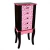 Teamson Kids - Fashion Prints Jewelry Armoire - Leopard (Pink / Black)