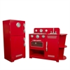 Teamson Kids–Classic Play Kitchen-Red