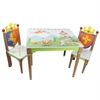 Fantasy Fields- Knights & Dragons Table & Set of 2 Chairs