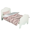"Olivia's Little World - Little Princess 18"" Doll Furniture - Single Bed & Bedding Set -Polka Dots"