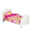 "Olivia's Little World - Little Princess 18"" Doll Furniture - Single Bed & Bedding Set -Summer Flowers"