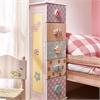 Fantasy Fields - Crackled Rose 5 Drawer Cabinet