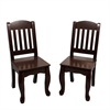 Teamson Kids - Windsor Set of 2 Chairs - Expresso