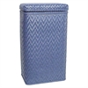 Redmon Elegante Collection Apartment Hamper, Coastal Blue