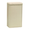 Elegante Collection Apartment Hamper, Cream