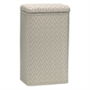 Redmon Elegante Collection Apartment Hamper, Mocha