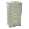 Elegante Collection Apartment Hamper, Sage Green