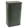 Chelsea Collection Apartment Hamper, Black