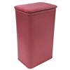 Redmon Chelsea Collection Apartment Hamper, Raspberry