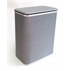 Redmon Pewter Hamper, Pewter/Silver