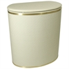 Capri Classic Bowed Front Hamper, Cream/Gold