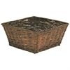 Large Willow Basket - Espresso