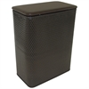 Redmon Chelsea Collection Hamper with vinyl lid, Espresso