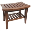 Redmon Genuine Teak Bench, Teak