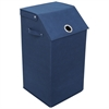 Redmon Flop Top Laundry Hamper, Navy