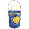 Bongo Buddy - Basketball pop up hamper, Navy