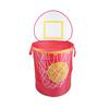 Bongo Buddy - Basketball pop up hamper, Red
