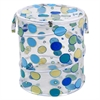 Redmon Dots Pop Up Hamper, Blue/Green