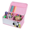 KIDS SAFARI Zebra Tool Box, Pink